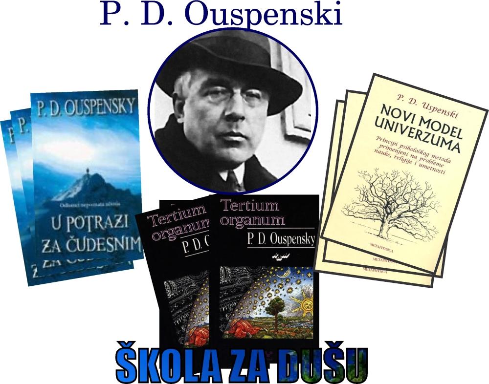 p.d. ouspenski knjige jpegslika